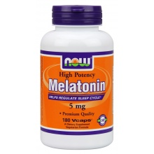 Антиоксидант Now Melatonin 5mg 180 капс